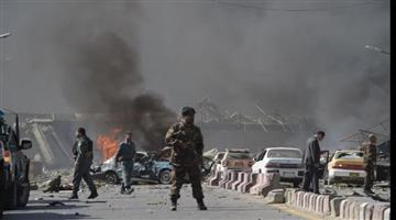 Khabar Odisha:at-least-12-people-killed-in-bomb-attack-on-afghanistan-election-rally