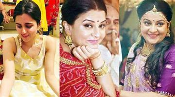 Khabar Odisha:baa-bahoo-aur-baby-fame-tv-actress-suchita-trivedi-to-tie-the-knot-at-41-mehendi-pics-tmov-7
