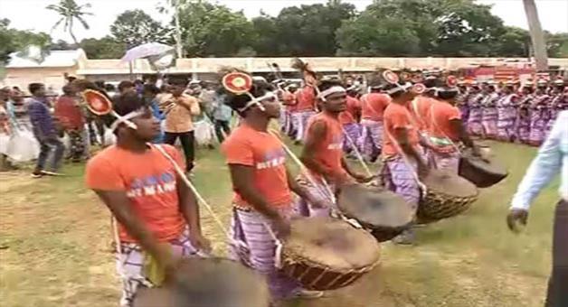 Khabar Odisha:bjd-observes-adivasi-day