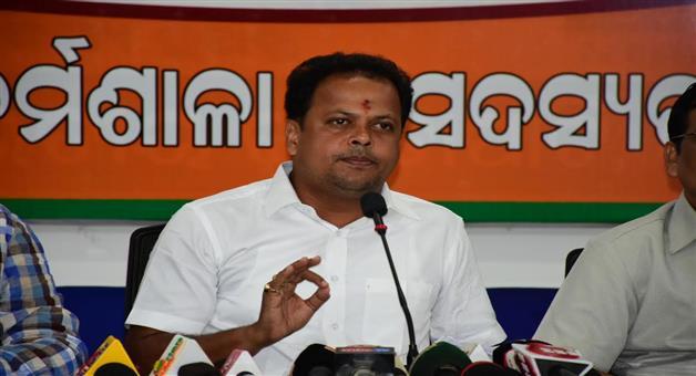 Khabar Odisha:bjp-gives-proof-of-pmay-scam-in-odisha