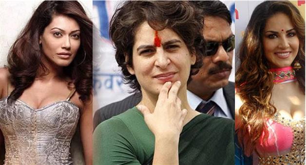 Khabar Odisha:bollywood-india-actress-payal-rohtagi-attacks-priyanka-gandhi