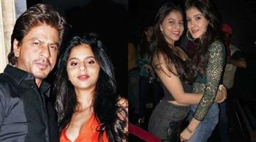 Khabar Odisha:bollywood-suhana-khan-wishes-dad-shah-rukh-khan-and-bff-shanaya-kapoor-on-their-birthday-