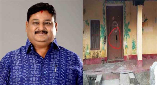 Khabar Odisha:bomb-attack-on-house-of-BJPs-Pipili-Assembly-candidate-Ashrit-Patnaik