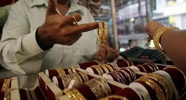 Khabar Odisha:business--Odisha--latest-gold-silver-price-gold-price-down-rs-80-per-10-grams-new-rate