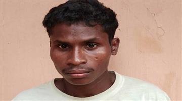 Khabar Odisha:cadre-maoist-chandra-sisa-arrested-by-malkangiri-police