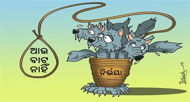 Cartoon Odisha:cartoon-nirbhaya-case-hang-order