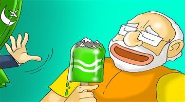 Khabar Odisha:cartoon-odisha-art-370-scrapped-in-jammu-kashmir