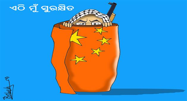 Cartoon Odisha: cartoon-odisha-china-protect-mashood-ajahar