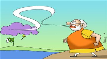 Khabar Odisha:cartoon-odisha-cyclone-bayu