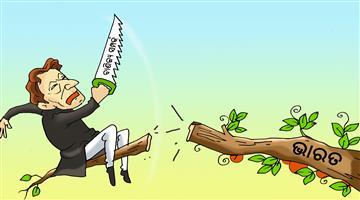 Khabar Odisha:cartoon-odisha-pakistan-imran-khan