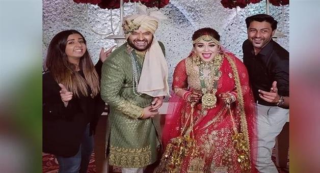Khabar Odisha:chandigarh-comedy-king-kapil-sharma-wedding-inside-photos-ginni-chatrath