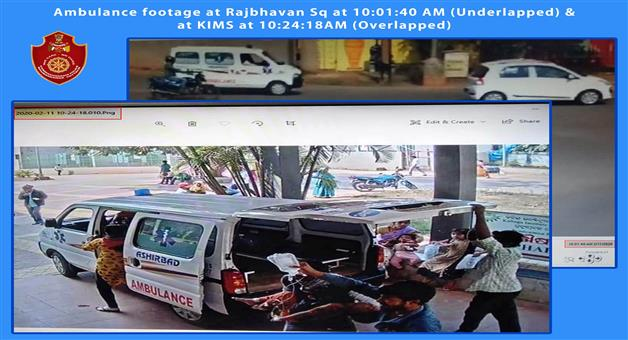 Khabar Odisha:commissionerate-police-tweets-chilldren-death-issue-for-trafic-jam