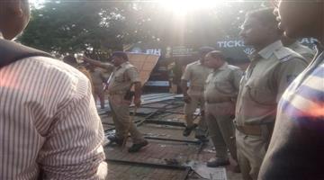 Khabar Odisha:conflict-in-kalinga-stadium-gate-for-ticket-selling-closed