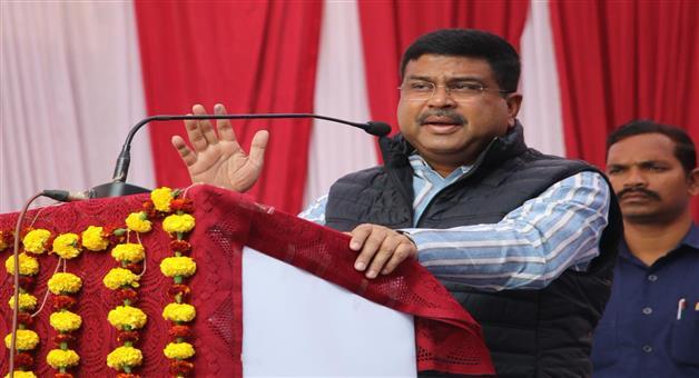 Khabar Odisha:development-odisha-khurda-dharmendra-pradhan-amrutamnandamayee