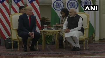Khabar Odisha:donald-trump-in-delhi-narendra-modi-bilateral-talks-defense-deal-india-america