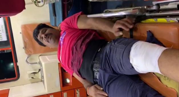 Khabar Odisha:dreaded-criminal-bhagu-injure-in-puri-police-encounter