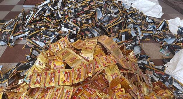 Khabar Odisha:duplicate-pan-masala-indusrty-Busted