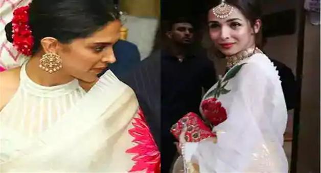 Khabar Odisha:entertainment-bollywood--odisha-bollywood-malaika-arora-deepika-padukone-same-saree-pictures-going-viral-on-social-media