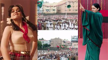 Khabar Odisha:entertainment-odisha-after-came-the-first-video-of-thalaivi-people-said-kangna-forgot-to-do-makeup