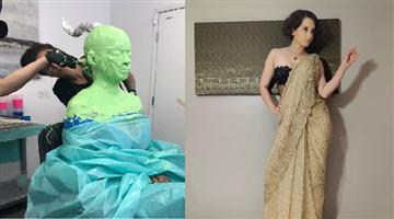 Khabar Odisha:entertainment-odisha-photos-kangana-ranaut-covers-herself-in-prosthetic-glue-to-become-j-jayalalithaa
