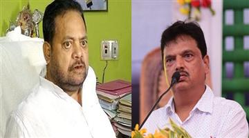 Khabar Odisha:ex-minixter-pradeep-maharathy-and-minister-niranjan-pujari-face-to-face-in-the-house