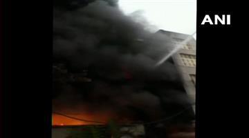 Khabar Odisha:fire-broke-out-in-a-factory-in-bawana-industrial-area-delhi