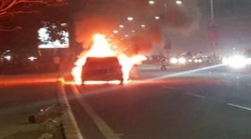 Khabar Odisha:fire-catch-running-car-in-bhubneswar