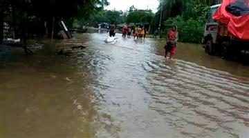 Khabar Odisha:flood-condition-in-odisha-baitarani-baleswar