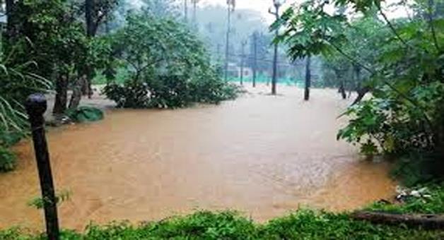 Khabar Odisha:flood-in-khurdha