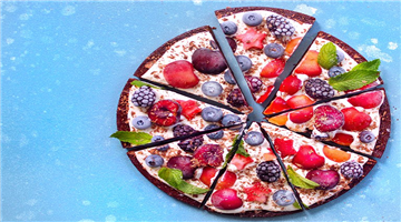 Khabar Odisha:food-odisha-chocolate-brownie-pizza-with-mixed-berries