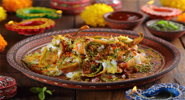 Khabar Odisha:food-odisha-mirchi-vada-chaat