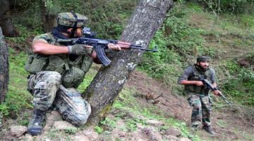 Khabar Odisha:fresh-gunfight-in-kupwara-woods-infiltrators-killed