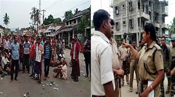 Khabar Odisha:group-fight-in-Khandapada-bodasha-village