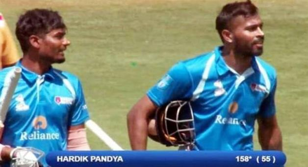 Khabar Odisha:hardik-pandya-158-not-out-in-just-55-balls-20-monster-sixes-dy-patil-t20-tournament