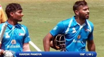 Khabar Odisha:hardik-pandya-158-not-out-in-just-55-balls-20-monster-sixes-dy-patil-t20-tournament