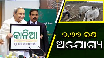 Khabar Odisha:in-kalia-scheme-266-lakh-peoples-are-ineligible-beneficiaries