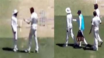 Khabar Odisha:india-vs-australia-ishant-sharma-and-ravindra-jadeja-spat-during-perth-test-video-viral