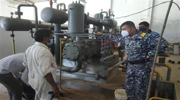 Khabar Odisha:indian-naval-repair-two-oxygen-plant-in-andhra-pradesh-amid-covid
