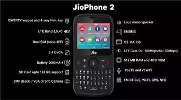 Khabar Odisha:jio-phone-2-flash-sale-today-price-where-to-buy-and-everything-you-should-know