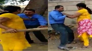 Khabar Odisha:karnataka-woman-thrashes-a-bank-manager-for-allegedly-asking-sexual-favours-to-approve-loan