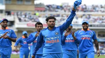 Khabar Odisha:kuldeep-yadav-could-play-in-place-of-yuzvendra-chahal-in-second-odi-against-west-indies