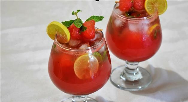 Khabar Odisha:lifestyle-Odisha-Praparation-of-watermelon-mojito