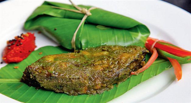 Khabar Odisha:lifestyle-food-odisha-baked-fish-in-banana-leaf