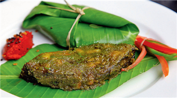 Khabar Odisha:lifestyle-food-odisha-baked-fish-in-banana-leaf
