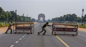 Khabar Odisha:lockdown-impose-in-national-capital-delhi-from-today-10pm-to-monday-5-am