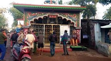 Khabar Odisha:loot-from-gurujanga-kali-mandir-khordha-odisha