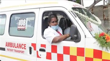 Khabar Odisha:m-veeralaxmi-first-woman-ambulance-driver