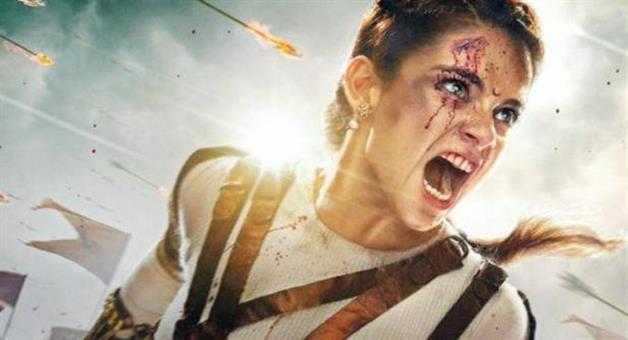 Khabar Odisha:manikarnika-official-teaser-out-on-gandhi-jayanti-kangana-ranaut-action-powerful-impact