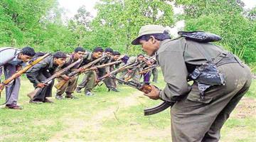 Khabar Odisha:maobadi-protest-at-andhara-odisha-border