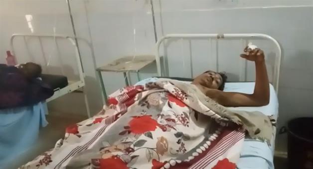 Khabar Odisha:miscreants-attack-on-a-family-in-bijepur